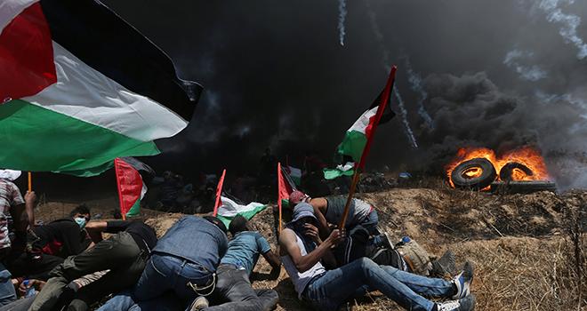 İsrail rejiminin katliamını şiddetle kınıyoruz